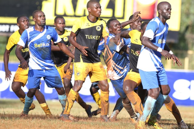 tusker and sofapaka players