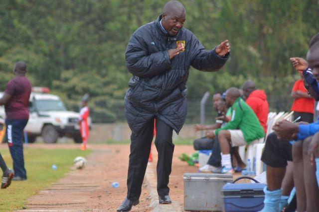 Coach Sam Ssimbwa