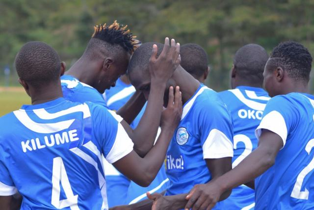 sofapaka players during the match against zoo fc