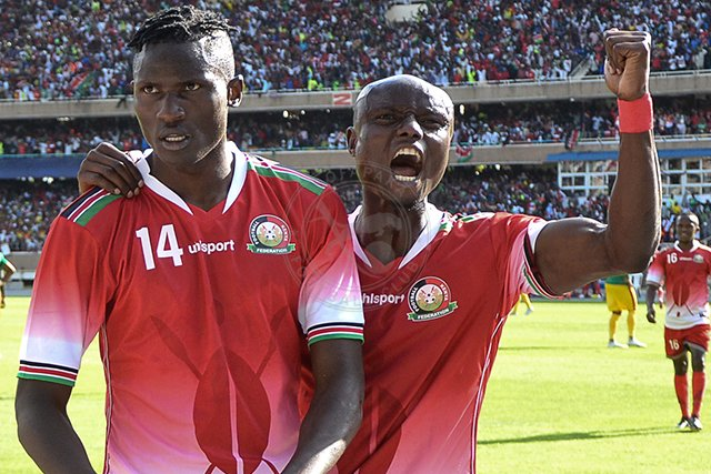 Michael_Olunga_celebrates_with_his_team_mate_Dennis_Odhiambo
