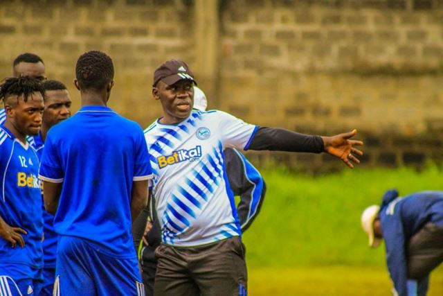 coach baraza rallying his troops