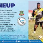 ROUND SEVEN MATCH LINEUP AGAINST NZOIA