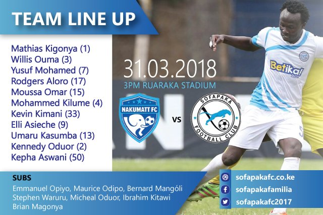 sofapaka_31.03.2018_vs_nakumatt_lineup