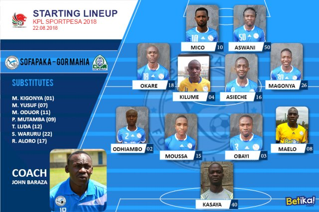 game_formation_22nd_Aug_sofapaka_vs_gor_mahia