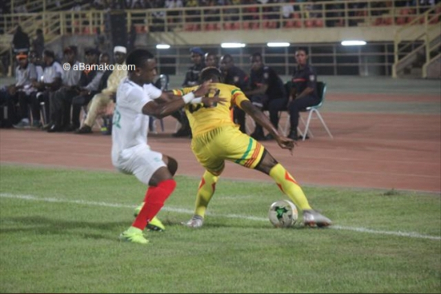 Sofapaka's Omar Moussa playing for his Burundian National team
