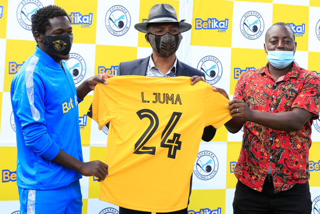 LAWRENCE JUMA TO WEAR JERSEY 24 AS SQUAD IS UNVEILED | Sofapaka FC