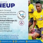 BETWAY CUP ROUND OF 32 LINEUP AGAINST ULINZI