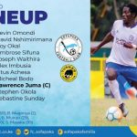 ROUND THIRTY MATCH LINEUP AGAINST TUSKER FC